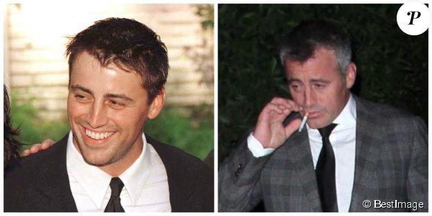Matt LeBlanc en 1997 et en 2014 - ©BESTIMAGE