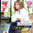 Ingrid Chauvin en couverture de Télé 7 Jours, en kiosques le 24 novembre 2014