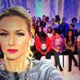 Aurélie Van Daelen : Blonde et mince, la chroniqueuse du Mag de NRJ12 est ravissante