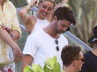Miley Cyrus et Patrick Schwarzenegger : Amoureux et déchaînés à Art Basel Miami