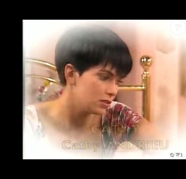 Cathy Andrieu incarne le personnage Cathy dans Hélène et les Garçons, en 1992.