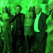 Marc Cerrone et Nicoletta avec leurs amoureux pour une soirée samba