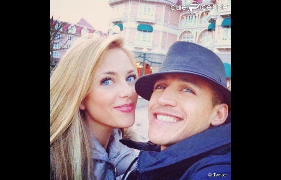 Alexis Sanchez avec sa jolie compagne Laia Grassi