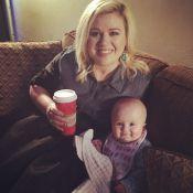 Kelly Clarkson : Le sourire de son adorable petite fille nous fait craquer