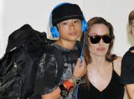 Angelina Jolie: Gâteau, dinde de Thanksgiving... Pax (11 ans), petit chef en herbe