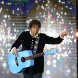 """Exclusif - Laurent Voulzy - Enregistrement de l'émission spéciale """"Johnny, la soirée événement"""", qui sera diffusée sur TF1 en prime time le 20 décembre 2014."""