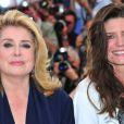 Catherine Deneuve et Chiara Mastroianni lors du festival de Cannes 2011