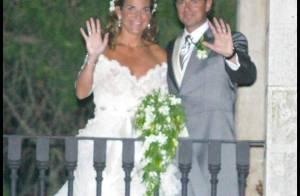 PHOTOS : La joueuse de tennis Arantxa Sanchez s'est mariée dans une jolie robe blanche ! LES PHOTOS
