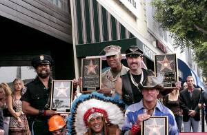 PHOTOS : Village People: une étoile gay sur Hollywood Boulevard !