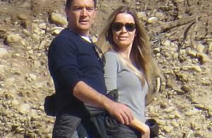 Antonio Banderas et sa chérie : Touristes amoureux, portés par l'adrénaline
