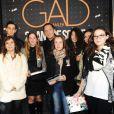 """Exclusif - Gad Elmaleh et des fans - People au Spectacle de Gad Elmaleh """"20 ans de Scène"""" au Palais des Sports à Paris le 10 décembre 2014"""