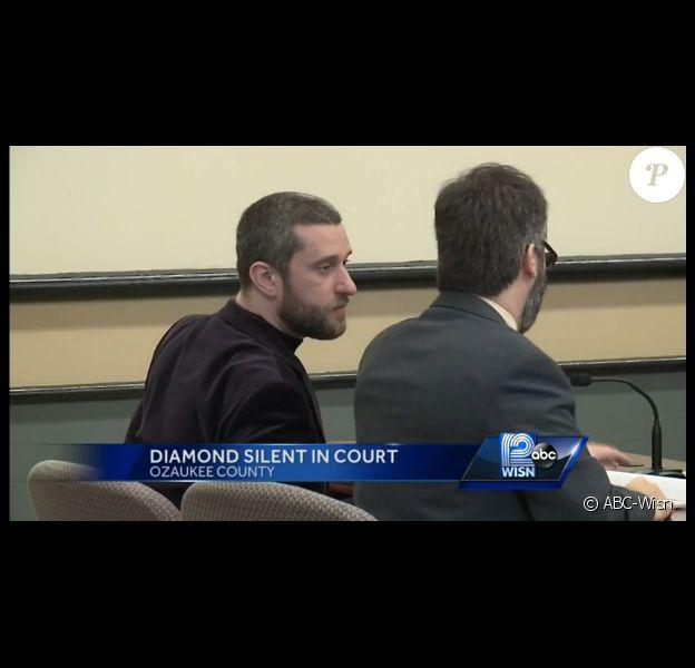 Dustin Diamond au tribunal, le lundi 29 décembre 2014.