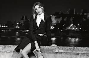 Gisele Bündchen pour Chanel : Divine Parisienne aux jambes nues