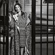 """Gisele Bündchen dans la campagne prêt-à-porter printemps-été 2015 de Chanel baptisée """"Paris After Dark"""" et photographiée par Karl Lagerfled."""