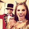 Alex Morgan et son mari Servando Carrasco pour Halloween 2013