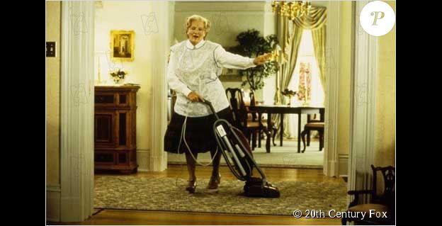 Madame Doubtfire avec Robin Williams