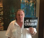 Charlie Hebdo : Gérard Depardieu, Gad Elmaleh... Bouleversés mais solidaires