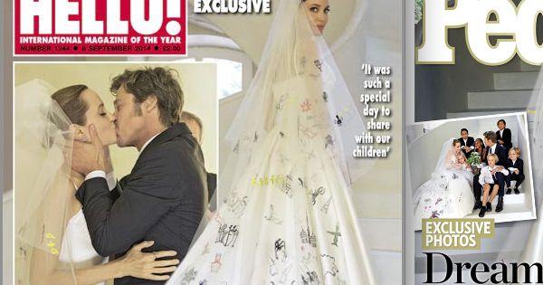 angelina jolie et brad pitt les dessous de leur mariage 39 39 officiel 39 39 et secret. Black Bedroom Furniture Sets. Home Design Ideas