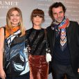 Louane Emera, Marina Fois et Eric Lartigau lors de la soirée des Révélations pour les César du Cinéma 2015 à Paris, le 12 janvier 2015.
