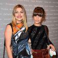 Louane Emera et Marina Fois lors de la soirée des Révélations pour les César du Cinéma 2015 à Paris, le 12 janvier 2015.