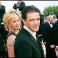 Antonio Banderas et Melanie Griffith au Festival de Cannes en 2004
