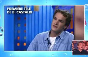 Benjamin Castaldi : Très embarrassé par les images de sa première télé en 1994 !