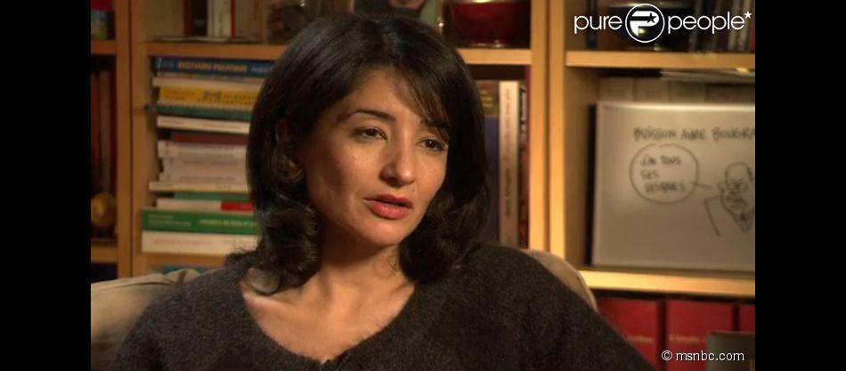 """Jeannette Bougrab déclare """"vouloir mourir"""" dans un entretien accordé à une chaîne américaine. Le 13 janvier 2015."""