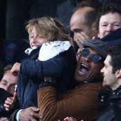 PSG : Yannick Noah et son fils Joalukas, fervents supporters avec Arnaud Lemaire