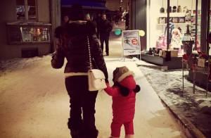 Emilie Nef Naf et sa fille Maëlla : Séjour de luxe inoubliable au ski !