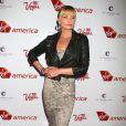 "Jaime Pressly a la soiree ""Virgin America"" a Las Vegas, le 22 avril 2013."