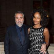 Luc Besson, très ému et honoré devant sa femme, Marc-Olivier Fogiel, ses amis...