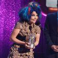 Björk à la cérémonie des Webby Awards à New York, le 21 mai 2012.