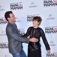 """Laurent Lafitte et Marina Foïs - Avant-Première du film """"Papa ou Maman"""" au Cinéma Pathé Beaugrenelle à Paris le 26 janvier 2015."""
