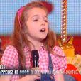 Erza - Finale de La France a un incroyable talent 2015 sur M6. Mardi 27 janvier 2015.