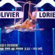 Hugo et Katharine - Finale de La France a un incroyable talent 2015 sur M6. Mardi 27 janvier 2015.