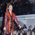 Défilé Jean Paul Gaultier, collection haute couture printemps-été 2015 à Paris le 28 janvier 2015.