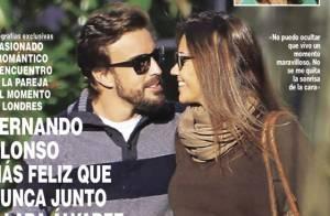Fernando Alonso et sa belle Lara : Amoureux à Londres, la love story se confirme