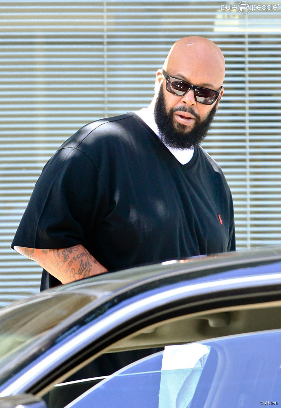 Suge Knight à Beverly Hills, Los Angeles, le 5 septembre 2014.