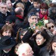 - Obsèques du chanteur Demis Roussos au premier cimetière d'Athènes en Grèce le 30 janvier 2015.