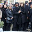 - Obsèques du chanteur Demis Roussos au premier cimetière d'Athènes en Grèce le 30 janvier 2015