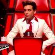 Mika dans The Voice 2015 sur TF1, le samedi 24 janvier 2015