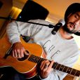 Showcase du groupe Fréro Delavega au Hard Rock Café à Nice, le 2 février 2015.