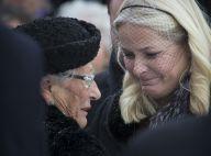 Famille royale de Norvège : La princesse Astrid épaulée aux obsèques de son mari