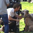 """""""Ryan Gosling sur le tournage du film """"The Nice Guys"""" à Los Angeles, le 3 février 2015."""""""