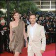 Mathieu Kassovitz et Aurore Lagache au Festival de Cannes 2008