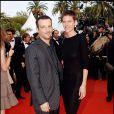 Mathieu Kassovitz et Aurore Lagache lors du Festival de Cannes 2006
