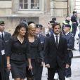 La princesse Victoria, le prince Carl Philip, la princesse Madeleine
