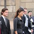 Le prince Carl Philip et la princesse Victoria