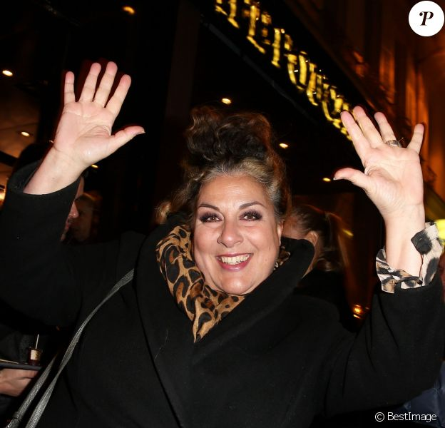Exclusif - Marianne James - Inauguration du Café Pouchkine à Saint-Germain-des-Prés, Paris le 22 janvier 2015.