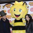 Jenifer Bartoli et Christophe Maé - Avant-première du film  Maya l'abeille  à l'UGC Ciné Cité Bercy à Paris. Le 31 janvier 2015.
